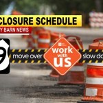 HWY 49 Weekend Construction Closures By TDOT (Dates)