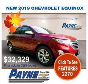 Payne 2019 Chev Equinox 2270 288