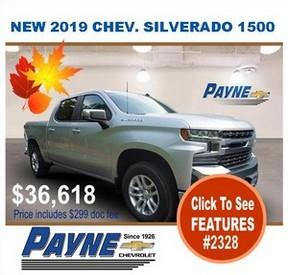 Payne 2019 Siverado 2328 288B
