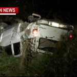 Teen OK After Hwy 76 Rollover Crash