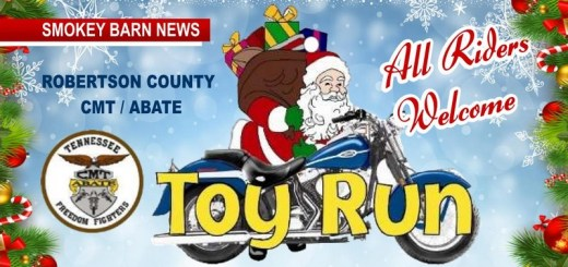 "Motorcyclists Invited: ""Christmas Toy Run"" For Needy Children In Robertson County"