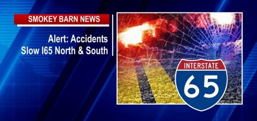 Alert: Accidents Slow I65 North & South