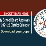 RC Schools Approve 2021-2022 Calendar