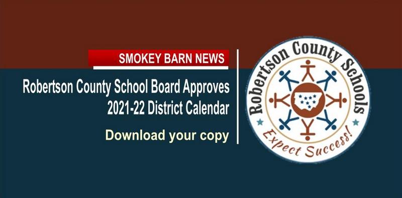 RC Schools Approve 2021 2022 Calendar | Smokey Barn News