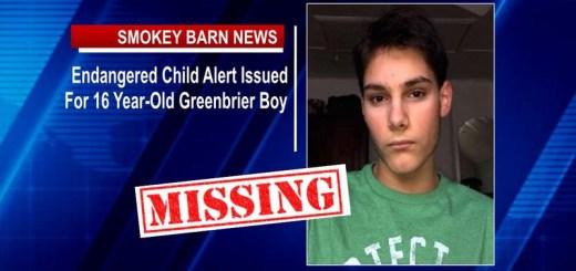 TBI Issues Greenbrier Endangered Child Alert