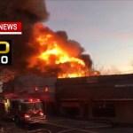 Massive Fire Destroys Springfield Business