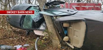 Driver Survives Violent Rollover Crash Near Orlinda