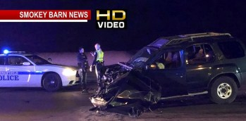 One Detained Following Three Vehicle Crash In Springfield Sunday Evening