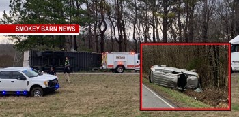 Robertson County Thursday Crash Report (2 Rollovers)