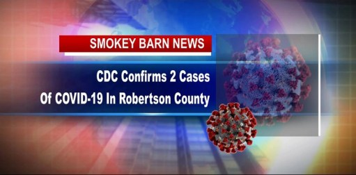 TN Dept. Of Health Confirms 2nd Case Of COVID-19 In Robertson County, Springfield Enacts State Of Emergency