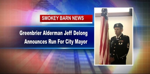 Greenbrier Alderman Jeff Delong Announces Run For City Mayor