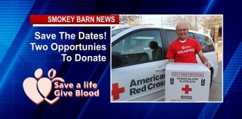 LOCAL Blood Drives (Surpluses Are Running Low)