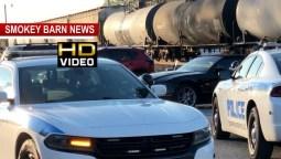 Roll-Away Car Hits Train In Springfield