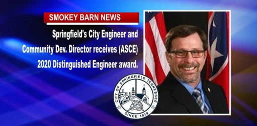 Springfield's City Engineer Honored With (ASCE) Award