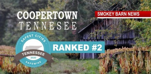 Coopertown Ranked #2 Safest City In Tenn. By Safewise
