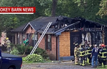 White House Home Ignites Overnight