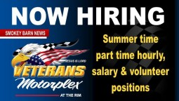 Job Opportunities Open Across The Board At Veterans Motorplex At The Rim