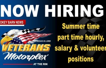 Part-Time/Summer Openings At Veterans Motorplex At The Rim