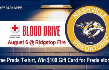 Blood Drive (Nashville Predators) At Ridgetop Volunteer Fire Dept