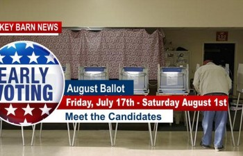 Friday Begins Early Voting For August Ballot In Robertson County
