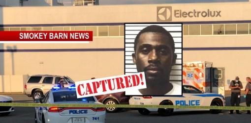Murder Suspect Anthony Brown Captured