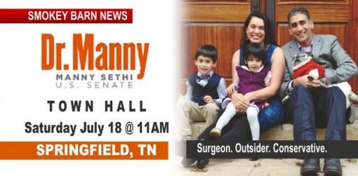 TODAY: Saturday Morning Manny Sethi To Speak In Springfield