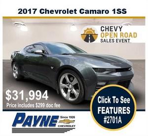 Payne 2017 chevy camaro 2701a