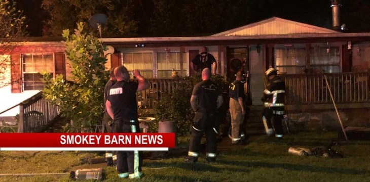 Team Effort By Area Firefighters Save Cross Plains Home