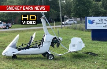 Small Aircraft Crash Lands After Takeoff In Springfield