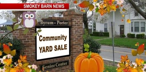 Orlinda: Community Yard Sale To Benefit Byrum Porter Sr. Center