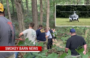Boy (11) Rescued After Falling 70 Ft Down Ravine