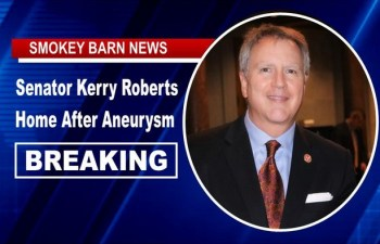 BREAKING: Senator Kerry Roberts Home After Aneurysm