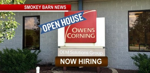 "OPEN HOUSE: Owens Corning ""Come Join Our team!"""