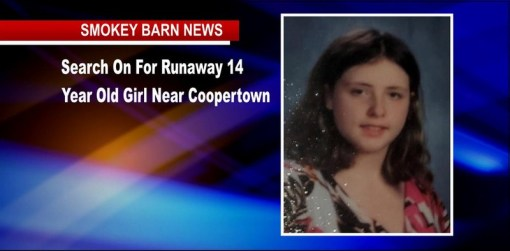 Search On For Runaway 14 Year Old Girl Near Coopertown