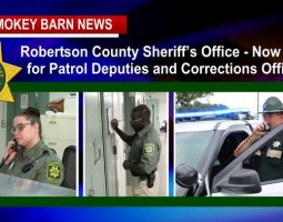 """Robertson Sheriff's Office: """"Join Our Team"""""""