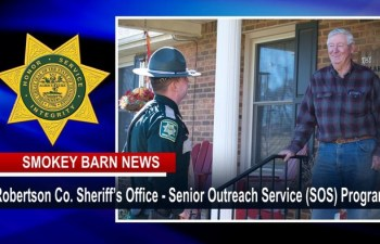 Robertson Sheriff Launches Senior Outreach (SOS) Program