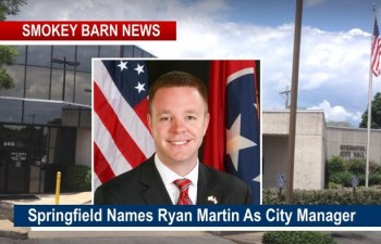 Springfield Names Ryan Martin As City Manager