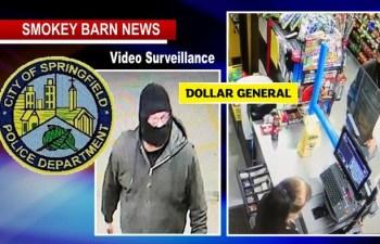 Springfield Dollar General Robbed At Gunpoint