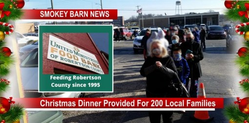 United Ministries Provides Christmas Dinner For 200 Local Families