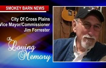 Cross Plains Vice Mayor Jim Forrester Dies, He was 79