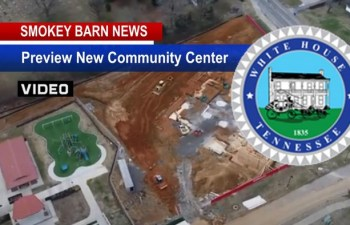 Preview New White House, TN Community Center/City Hall Project (AERIAL VIDEO)
