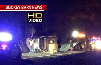One Transported Following Rollover Crash Near Cross Plains