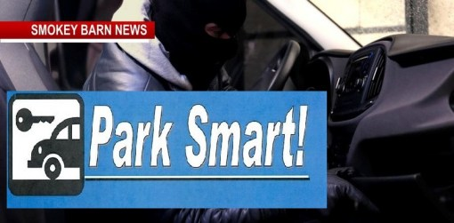 Clarksville PD Says: Car Burglaries Up->Learn Your Park-Smart-Tips