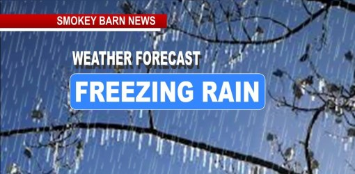 Winter Storm Watch: Freezing Rain/Ice Potential Wed. Night Into Thurs. AM