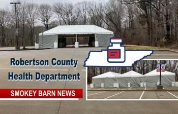 Robertson Opens New COVID Vaccination Site