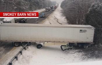 Weather Triggers Multiple I-65 Wrecks Thursday Morning