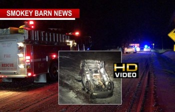 Two Injured In Hwy 49 Rollover Crash Monday Night