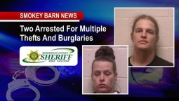 Cross Plains Couple Charged With Rash Of Cross County Burglaries