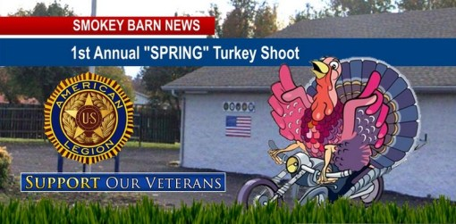 1st Annual Spring Turkey Shoot Coming To American Legion Post 45 In Greenbrier