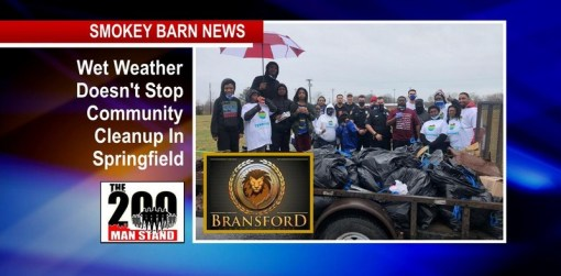 Wet Weather Doesn't Stop Community Cleanup In Springfield